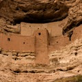 Close up of the castle- Montezuma Castle National Monument