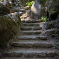 Stone steps- Toketee Falls