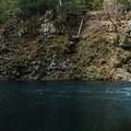 View of falls from pool- McKenzie River Trail: Trail Bridge to Tamolitch Pool
