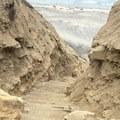 stairs down to the beach- Black's Beach via Gliderport Trail