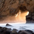 A closer look at the Keyhole- Pfeiffer Beach