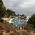 McWay cove looks just as great later in the year- Julia Pfeiffer Burns State Park