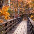 Looking across the PCT bridge- McArthur-Burney Falls Memorial State Park