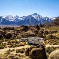 Alabama Hills Dispersed Camping Area