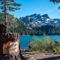 Sardine Lake and the Sierra Buttes- Sardine Lake Resort