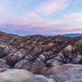 Sunrise over Death Valley- Zabriskie Point