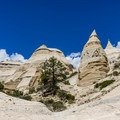 Tent rocks formations- Slot Canyon Trail