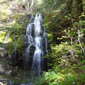 Shower Creek Falls- Bagby Hot Springs
