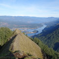 Columbia River Gorge (east view)- Munra Point Hike