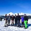 Summit pic.- Tumalo Mountain Snowshoe