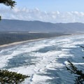 Looking south toward Pacific City.- Cape Lookout Hiking Trail