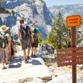 Trail- Vernal Falls Hike via Mist Trail