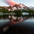 Scout Lake Sunset- Jefferson Park via Whitewater Creek Trail