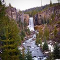 Tumalo Falls from the bridge- Tumalo Falls + Creek Hike