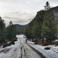 Icey walk to Tumalo Falls- Tumalo Falls + Creek Hike