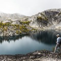 Perfection Lake living up to it's name- Enchantment Lakes Hike via Snow Lakes