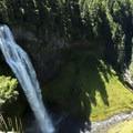 Salt Creek Falls cascading into the valley below- Salt Creek Falls