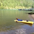 Water too cold to submerge yourself- Colonial Creek Campground