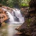 Swimming in the pools below is refreshing regardless.- Ho'opi'i Upper Falls