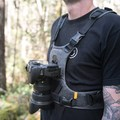 A chest harness for your camera allows for hands-free portability and a quick response time. Photo used in compliance with CC 2.0.- The Outdoor Project Gift Guide 2018: Adventure Photography Gear
