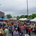 The Outdoor Project tent at the 2017 Summer Solstice Block Party.- 2017 Portland Summer Solstice Block Party Recap