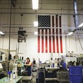 Danner Factory Tour, Portland, Oregon. Photo by Dan Baker.- Danner Boots Factory Tour
