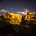 Zion National Park under the stars.- Leica Akademie Photography Workshop in Zion National Park