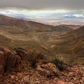 View from the top of Daylight Butte.- A Mountain Brat in Death Valley