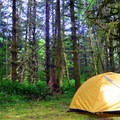 Camping along the Harris Ranch Trail. - 19 Adventures Between You and The Oregon Coast