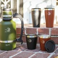 DrinkTanks makes insulated cups and growlers in assorted sizes and colors.- Gear Review: DrinkTanks Insulated Growlers + Cups