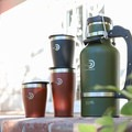 The 64 ounce growler with 16 ounce and 10 ounce cups.- Gear Review: DrinkTanks Insulated Growlers + Cups