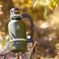 Though weighty with their solid construction, the DrinkTanks growlers definitely have a rugged look to them.- Gear Review: DrinkTanks Insulated Growlers + Cups