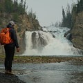 Smith River Falls.- An Adventurer's Guide to Canada's Northern Rockies