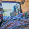A work space with a view. - Working from the Road: The Balancing Act of Van Life