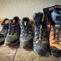 Use the right footwear for the right trip.- A Complete Trail Guide to Happy Feet