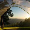 Ending the day on a mountaintop.- Gear Review: Marmot Tungsten UL 2P Tent