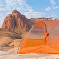 Camping in the remote Utah desert.- Gear Review: Big Agnes Copper Spur HV UL2 Tent
