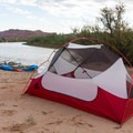 On a multi-day river trip in Southern Utah.- Gear Review: MSR Hubba Hubba NX 2 Tent