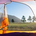 Morning views over the savannah.- Gear Review: Big Agnes Copper Spur HV UL2 Tent