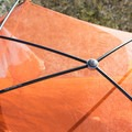 Four-way hub on the poles makes for easy setup and extra headroom.- Gear Review: Big Agnes Copper Spur HV UL2 Tent