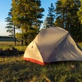 Settled in for the evening.- Gear Review: MSR Hubba Hubba NX 2 Tent