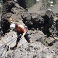 Making the rapel down from Three Fingered Jack's summit.- Head for the Hills: 6 Must Do Climbs!