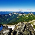 Lush green views from the summit of Unicorn Peak- Embracing the Struggle