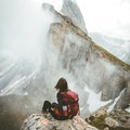 Seceda Hike in the Dolomites, Italy. Photo by @Dani_The_Explorer.- Woman In The Wild: Dani Rodriguez