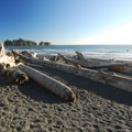 Rialto Beach with James and Little James Islands out in the distance.- Washington's 20 Best Beaches