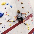 Bouldering at our local gym.- Learning the Ropes: A Beginner's Guide to Rock Climbing with Kids
