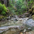 Crystal clear water on the trail to Beaver Pass.- A Week on the Pacific Northwest National Scenic Trail