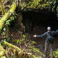 Clackamas + Memaloose Falls hike with numerous tunnels bored by the South Fork Water Board.- 10 Adventures to Explore Mines + Tunnels!