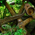 Abandoned machinery at Jawbone Flats.- Wednesday's Word - Santiam