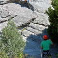 Top roping at Warrior Rock in Castle Rock State Park.- Learning the Ropes: A Beginner's Guide to Rock Climbing with Kids